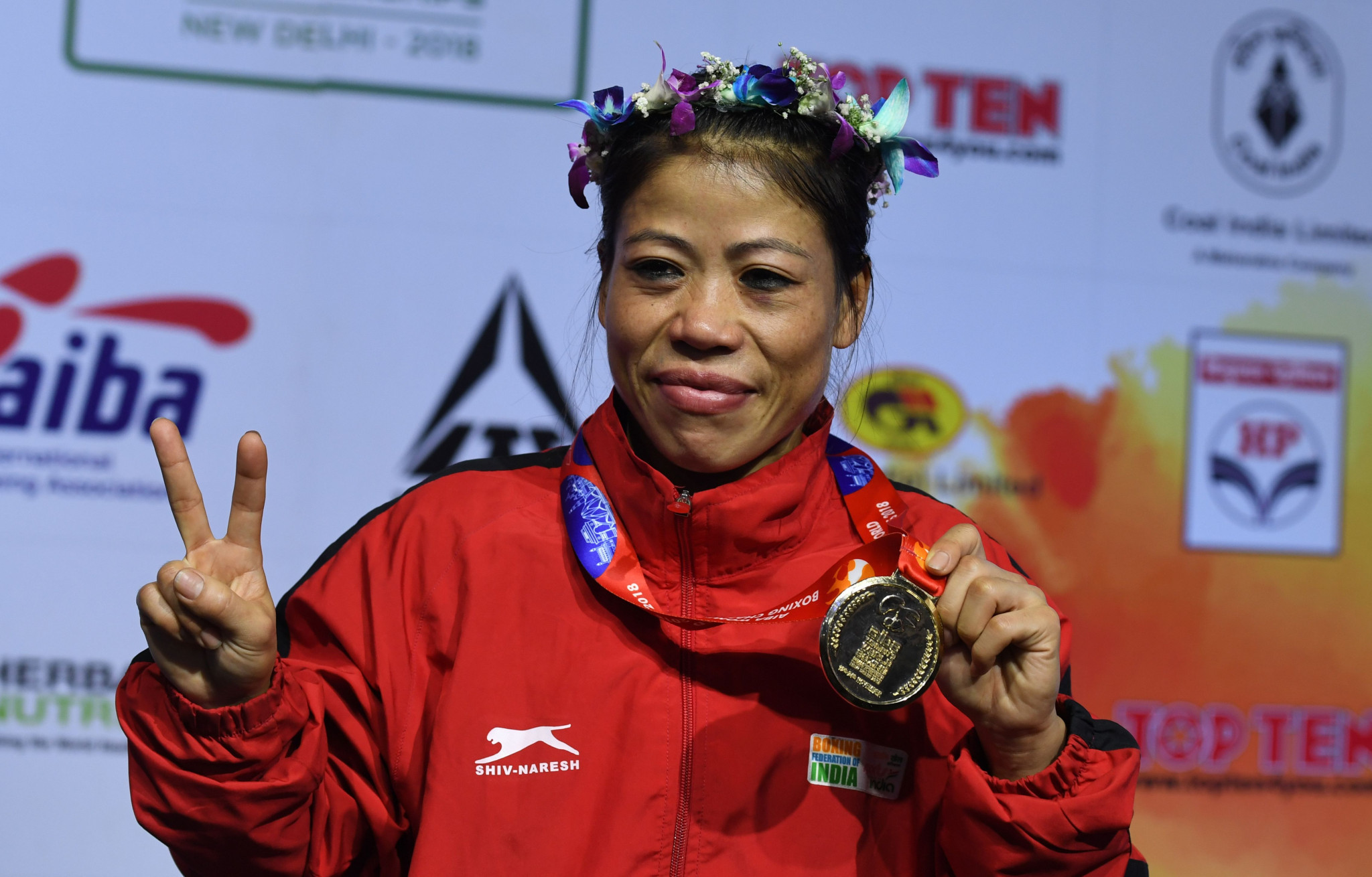 Mary Kom has indicated she relishes the chance to take on Nikhat Zareen in a trial ©Getty Images