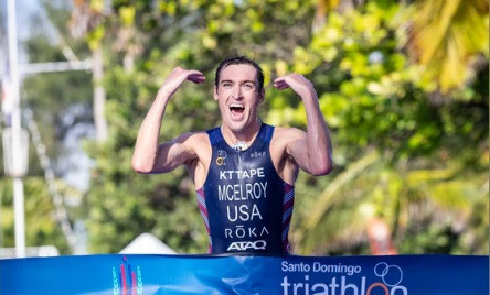 McElroy completes Triathlon World Cup hat-trick with victory in Santo Domingo