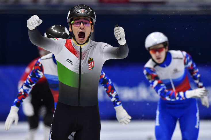 Hungary's Liu strikes gold twice as ISU Short Track World Cup concludes in Montreal