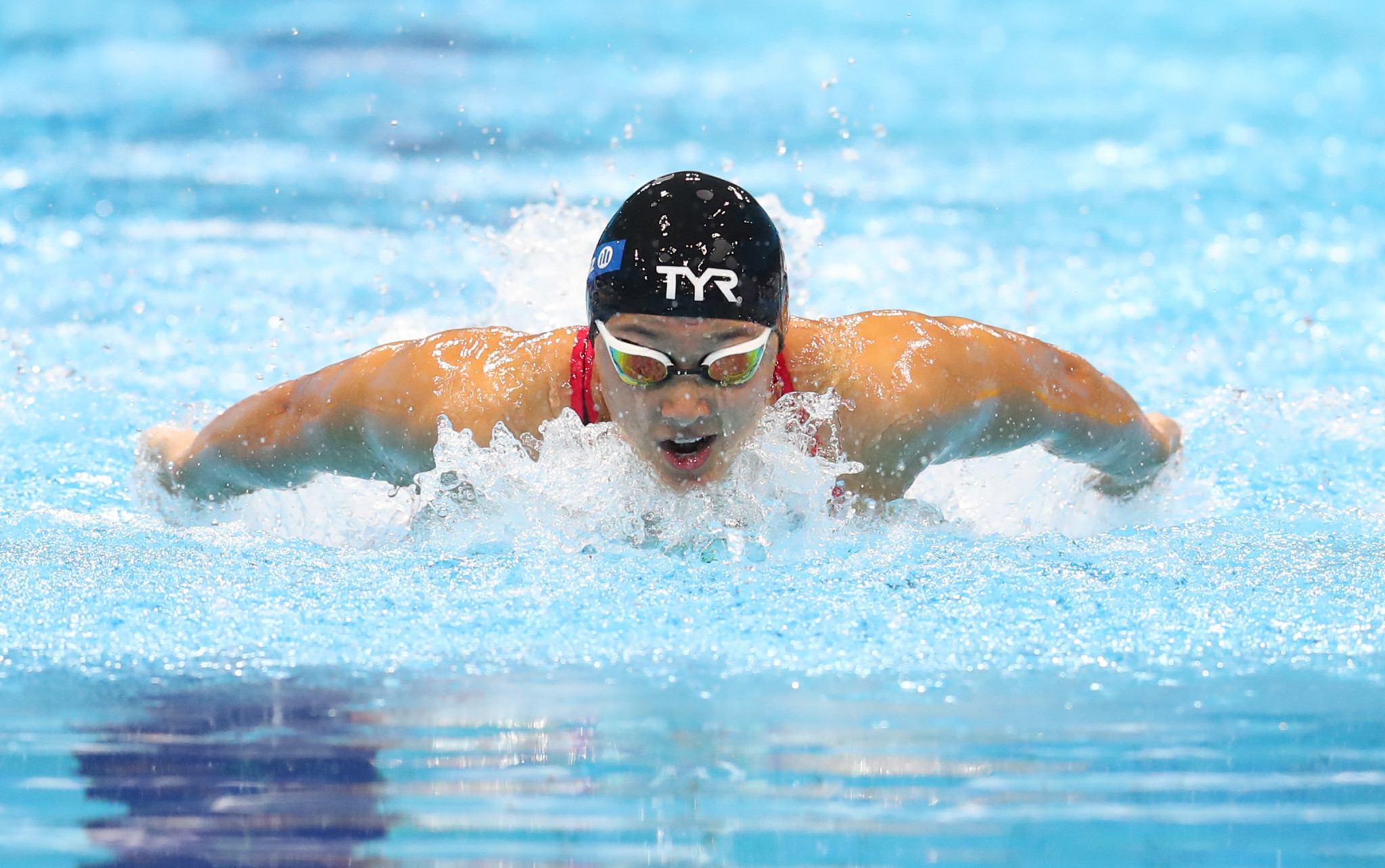 Alice Tai won seven gold medals at the World Para Swimming Championships in London in September ©Getty Images