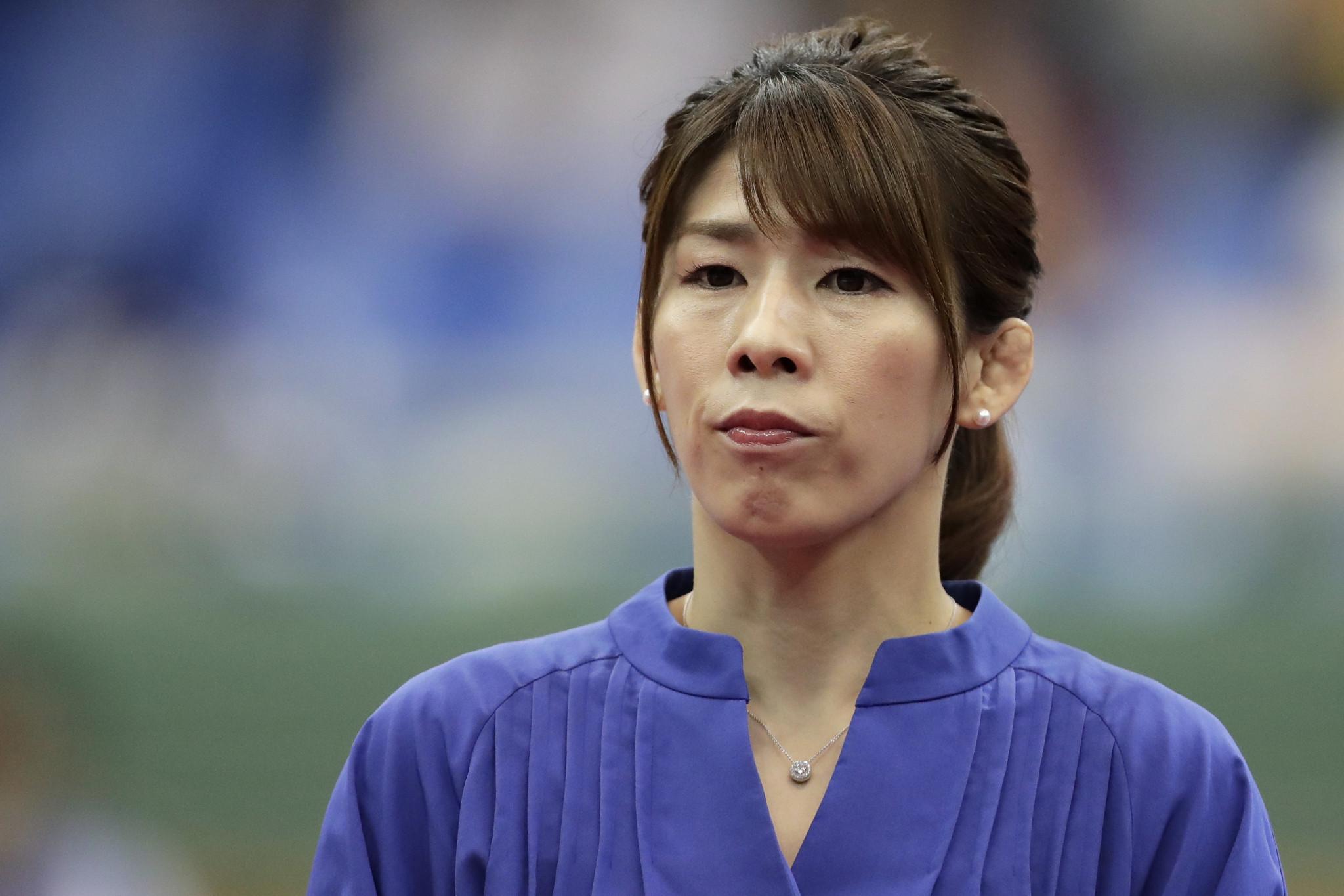 Wrestler Saori Yoshida has been announced as a Torchbearer ©Getty Images