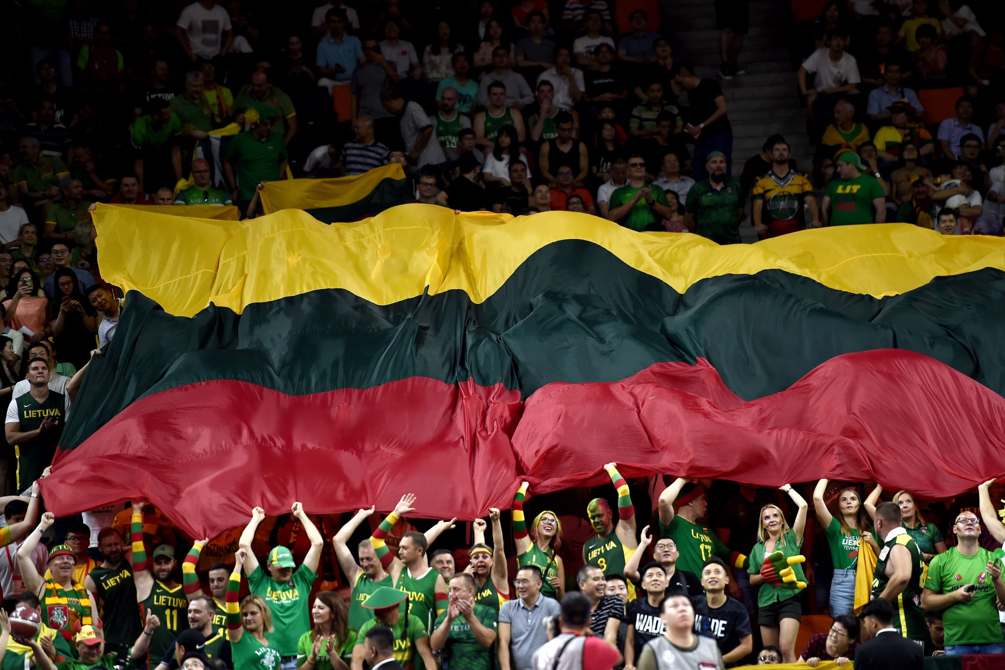 Lithuania will host next year's Men's Under-20 European Championship ©Getty Images