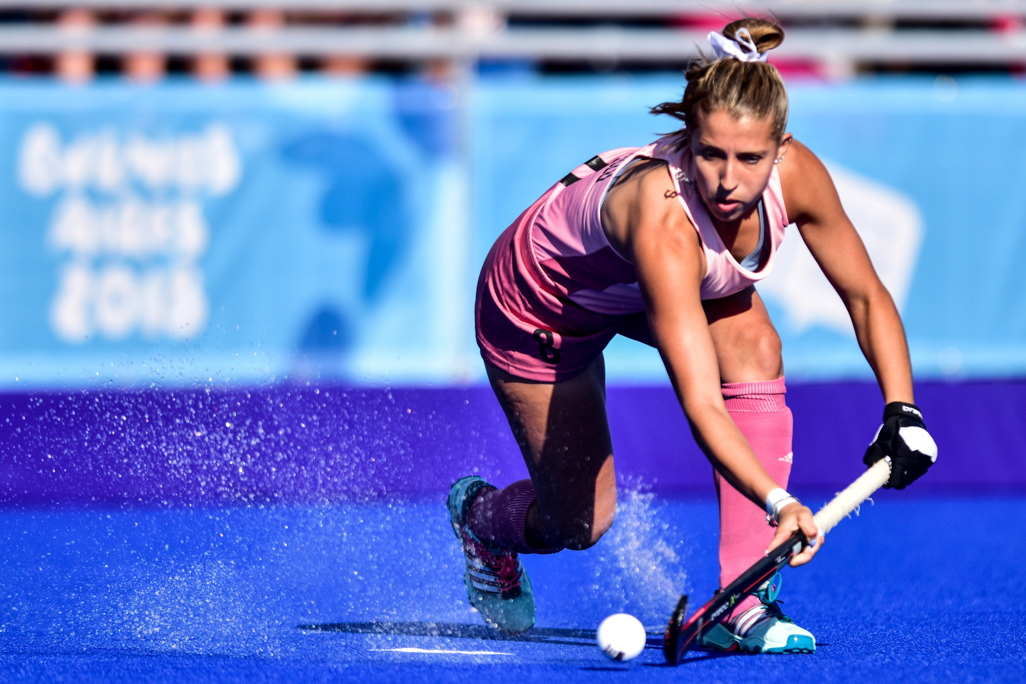 Hockey 5s featured on the programme of the Singapore 2014 and Buenos Aires 2018 Youth Olympic Games ©Getty Images