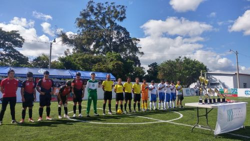 Costa Rica thrashed Guatemala 5-0 in a one-sided final ©IBSA