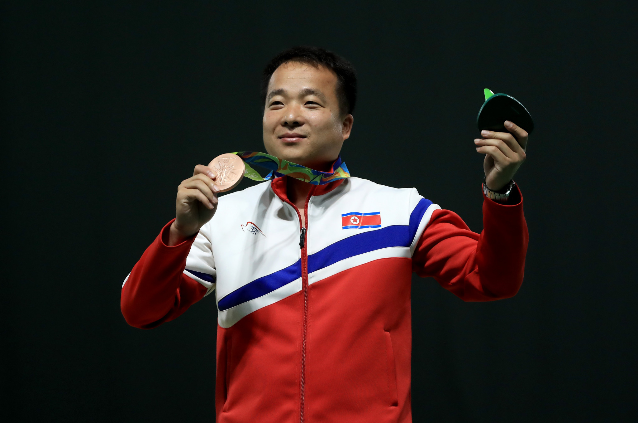 North Korean wins 10m air pistol title at Asian Shooting Championships