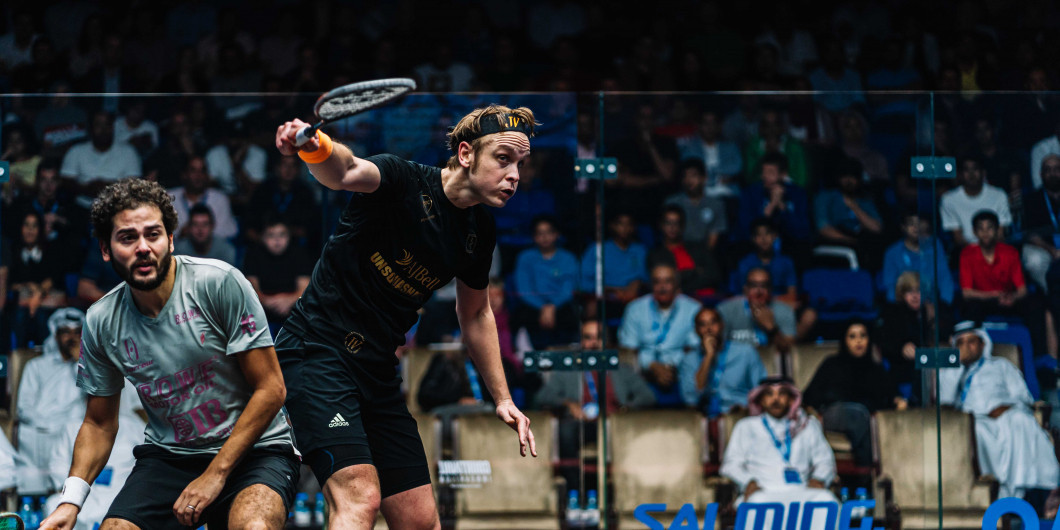 Willstrop stuns third seed Gawad to book quarter-final spot at PSA Men's World Championship