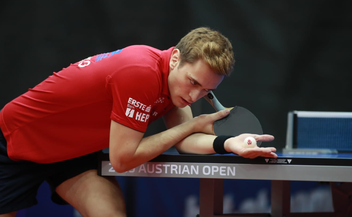 The preliminary rounds got underway today in the Austrian Open ©ITTF