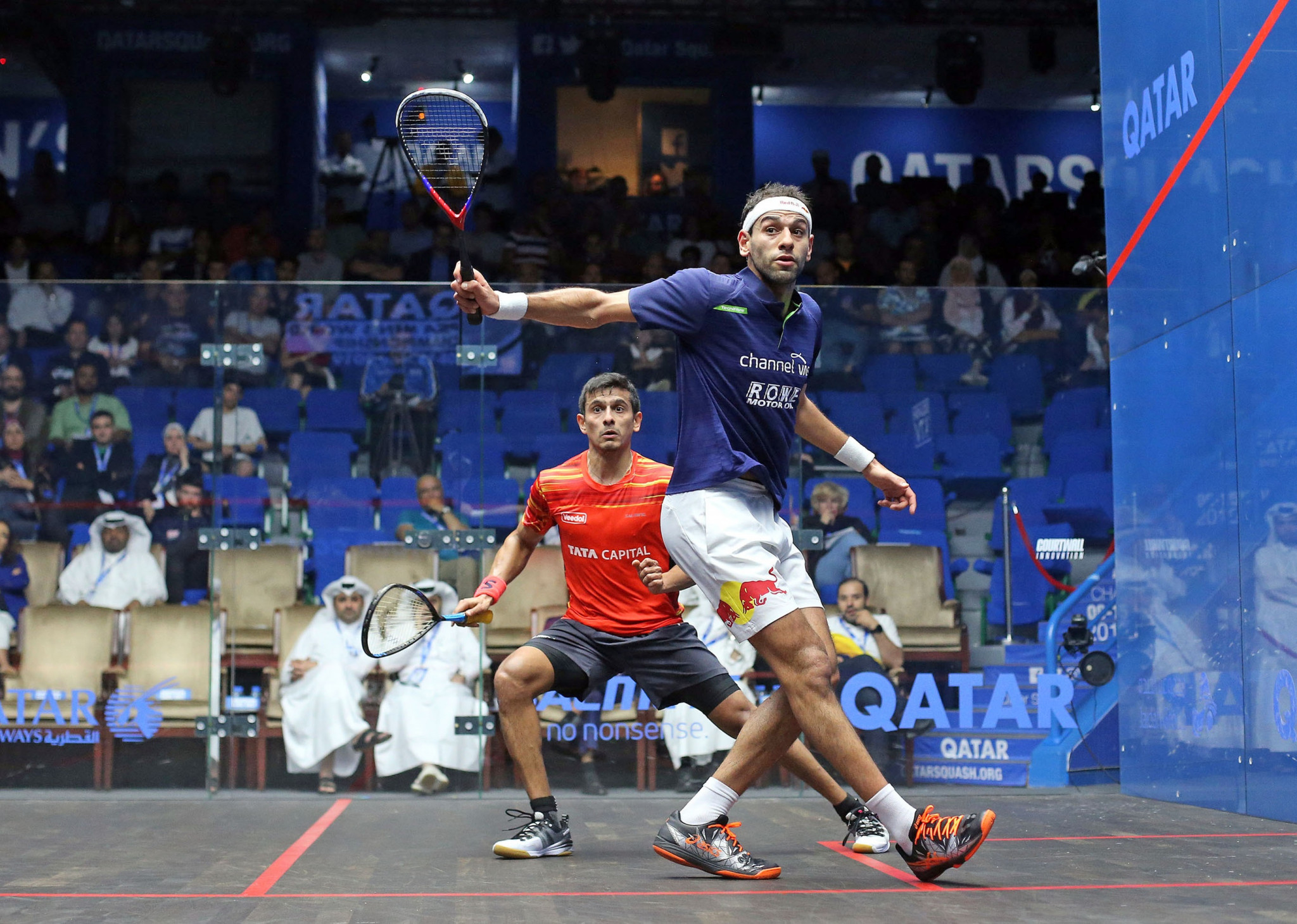 ElShorbagy brothers to face off in quarter-finals of PSA Men's World Championship