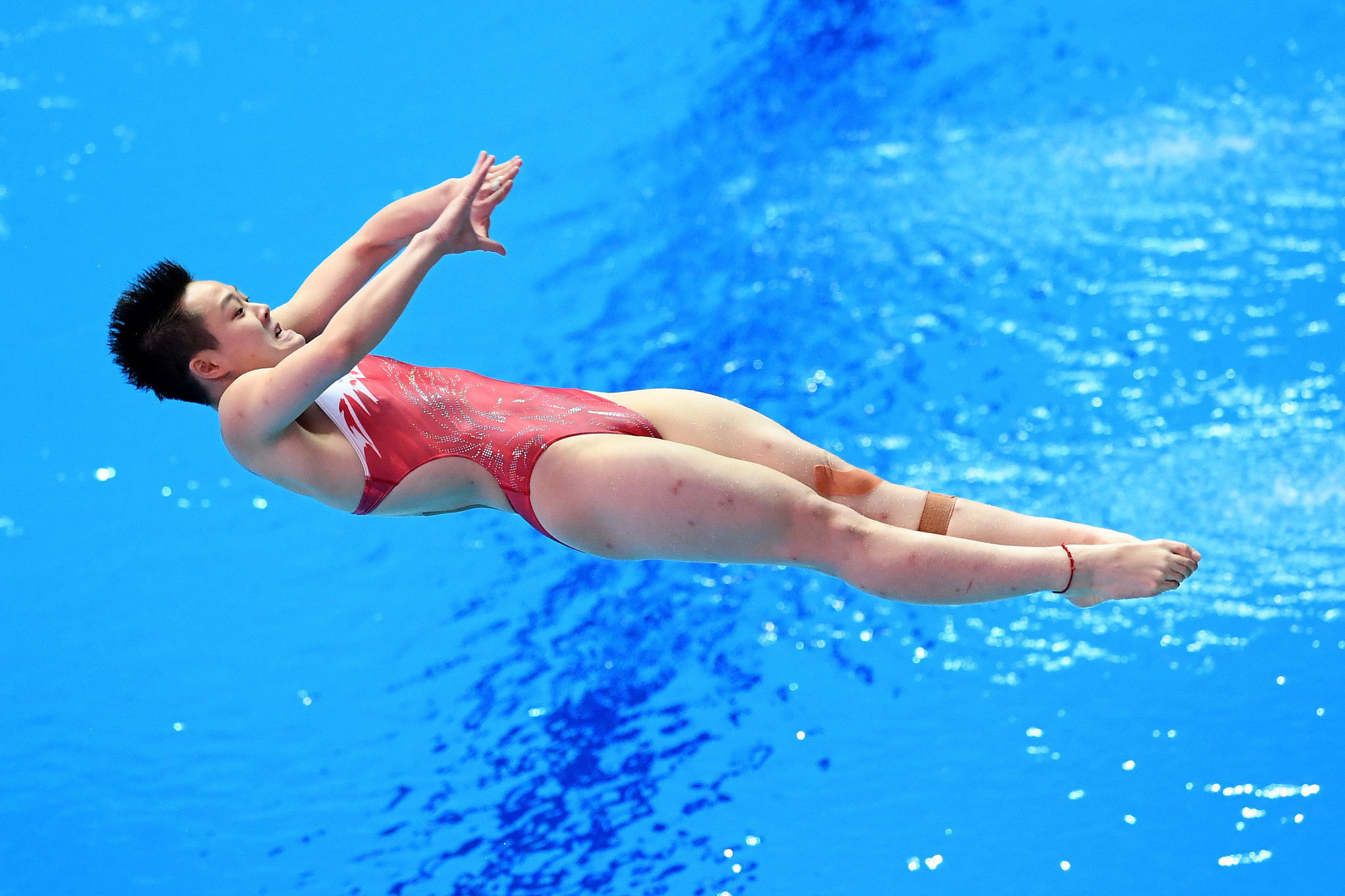 Chen Yiwen topped the podium as China won all of the individual events ©Getty Images