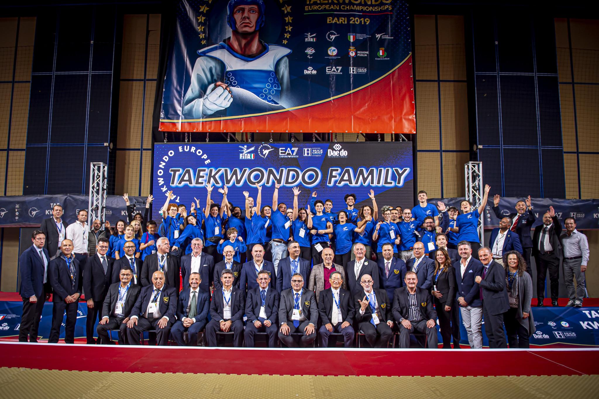 The G4 Extra European Taekwondo Championships were spread across three days ©WTE