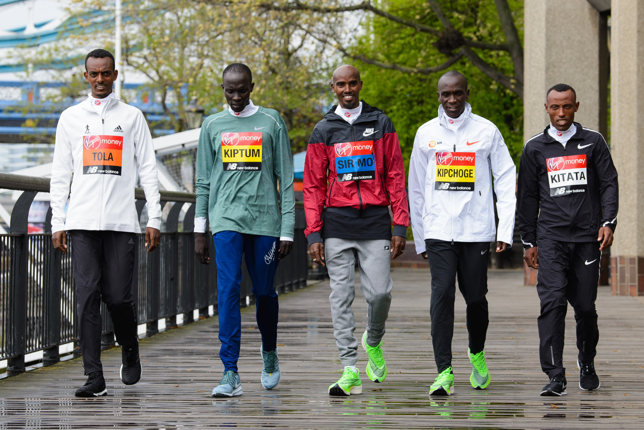 Abraham Kiptum had been provisionally suspended two days before this year's London Marathon ©Getty Images