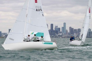 London 2012 champions top SKUD18 leaderboard on opening day of Para World Sailing Championships