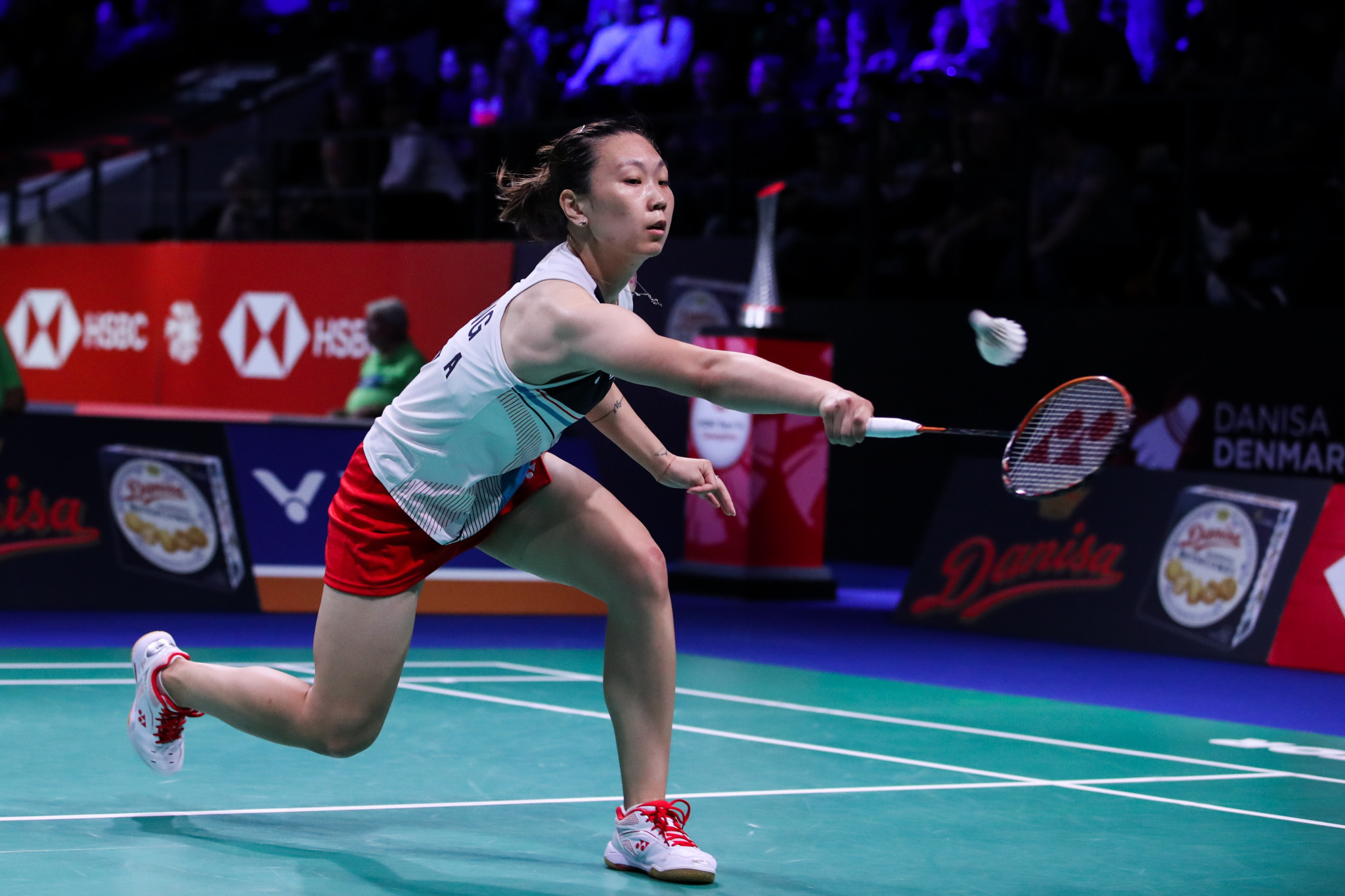 USA Badminton, the national governing body behind players such as Zhang Beiwen, could have its status revoked ©Getty Images