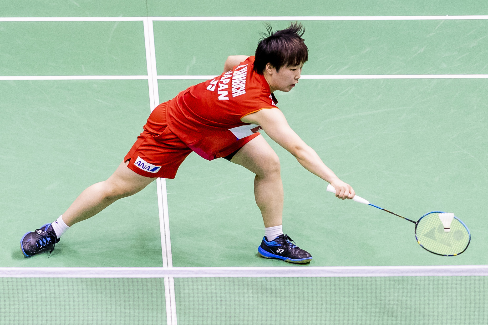 Akane Yamaguchi took revenge on Malaysia's Soniia Cheah ©Getty Images