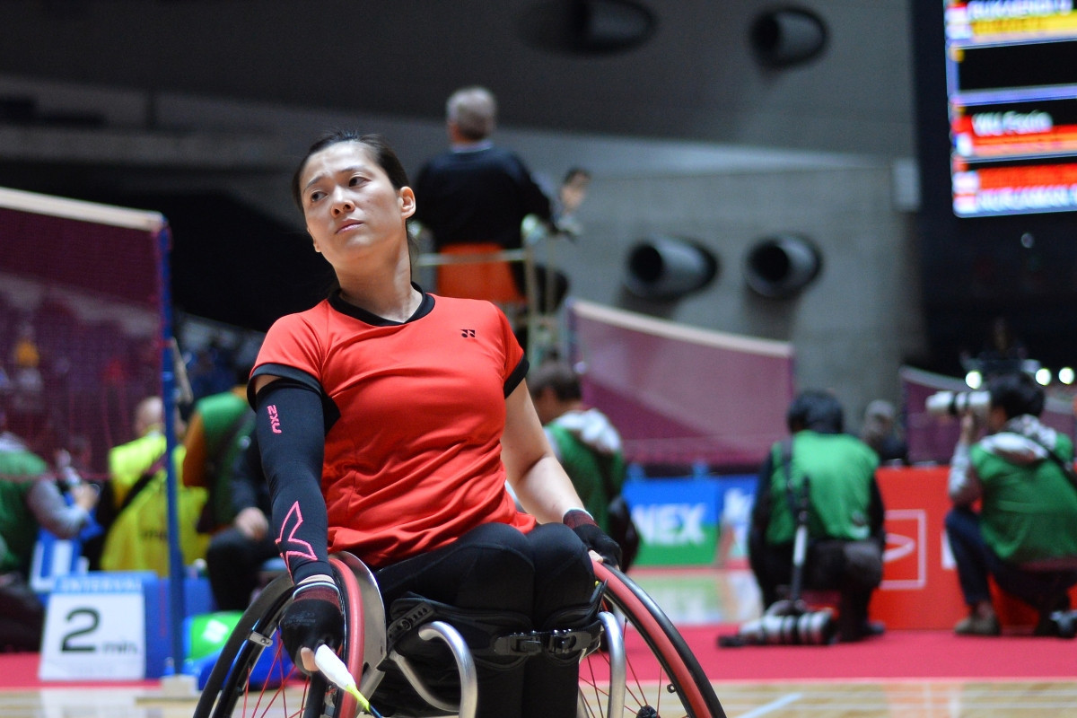 Action begun today at the Japan Para Badminton International in Tokyo ©BWF