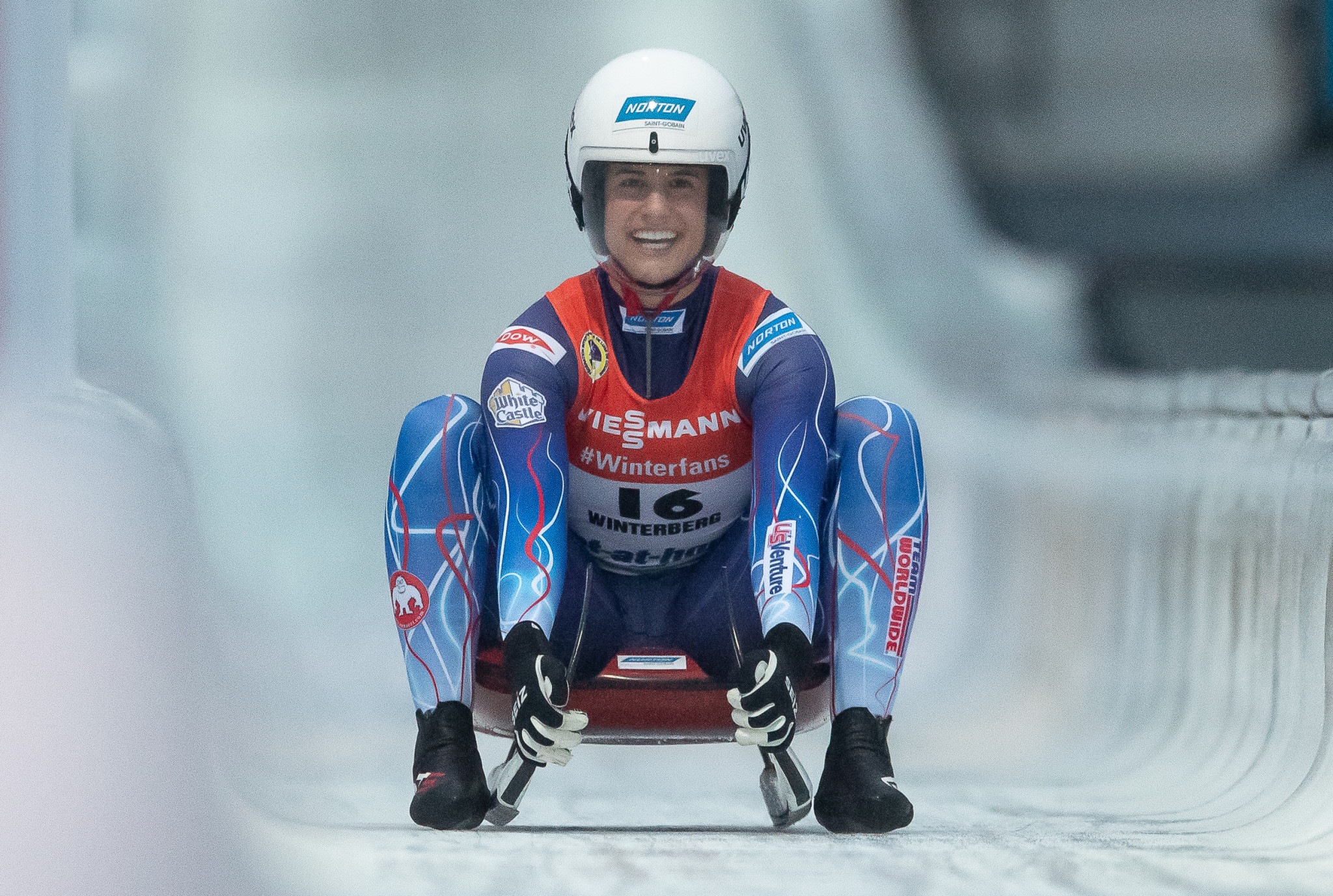 Sweeney and Mazdzer receive USA Luge awards