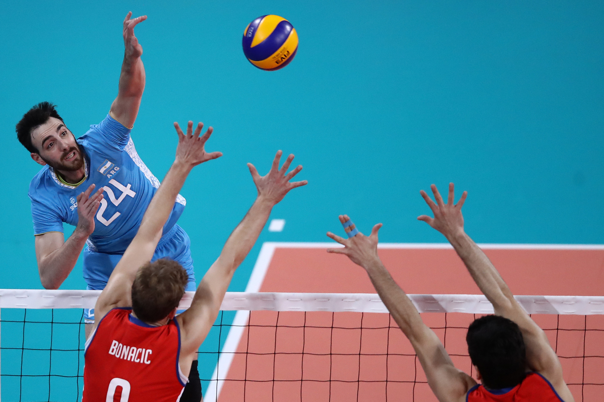 The powers-that-be within international volleyball have high ambitions for the sport ©Getty Images