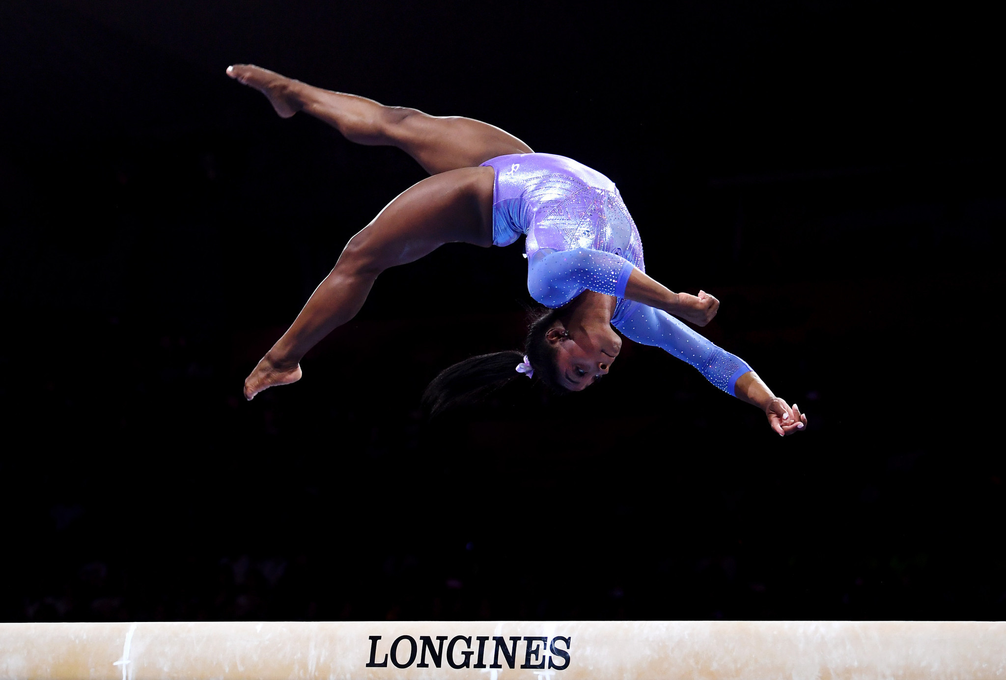 Gymnastics is now considered tier one in IOC rankings, with American Simone Biles a key figure in the sport's success ©Getty Images
