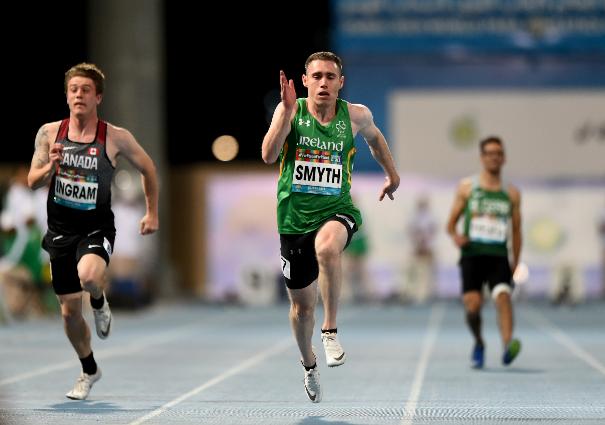 Ireland's Jason Smyth won his eighth world title ©Getty Images