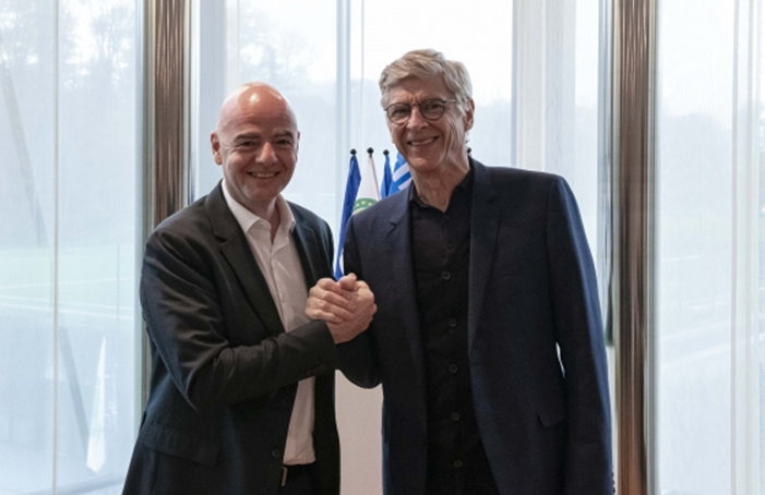 Wenger takes FIFA global development role