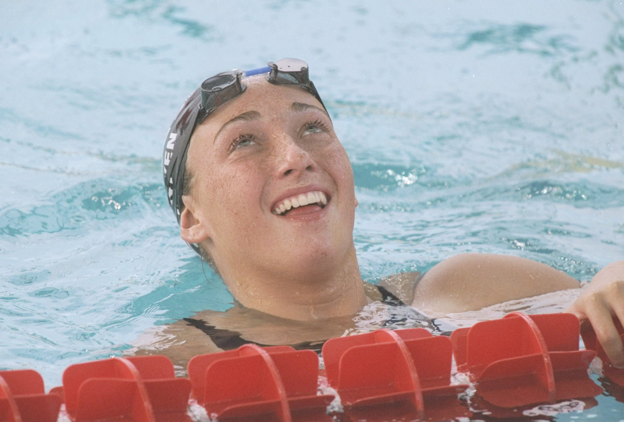 Amy Van Dyken won six Olympic gold medals during her swimming career ©Getty Images