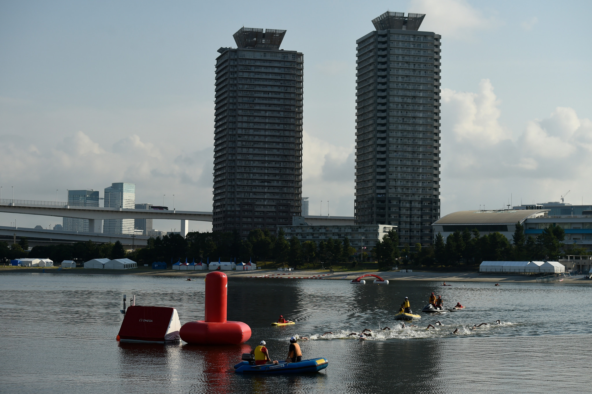 The Summer International Federations have expressed satisfaction overall with preparations for next year's Olympic Games in Tokyo but fears remain over things like water pollution ©Getty Images