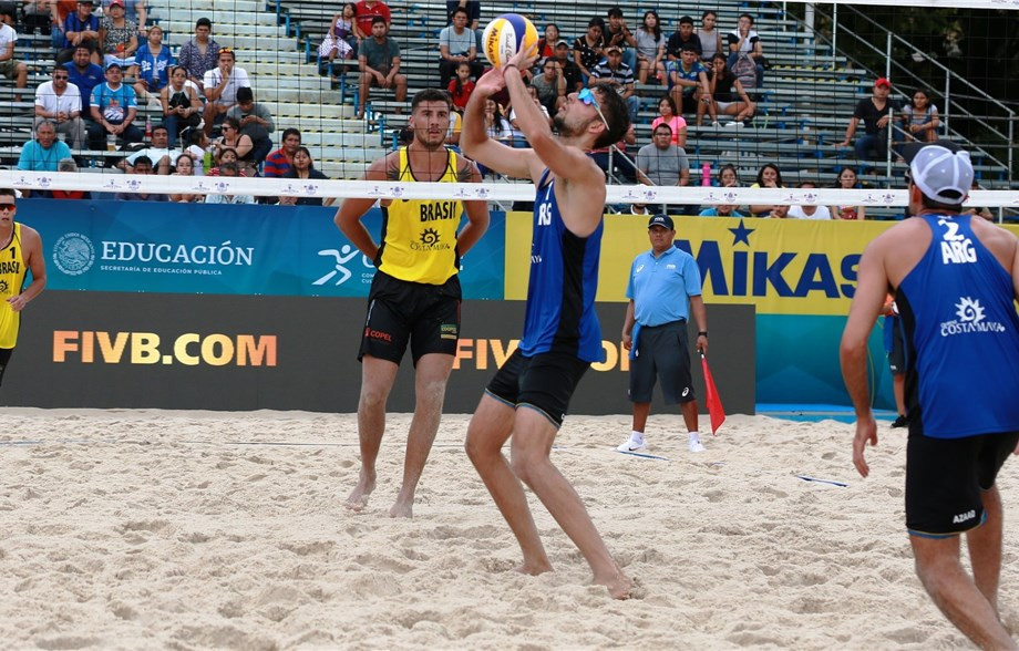 Argentine pair win South American battle at FIVB Chetumal Open