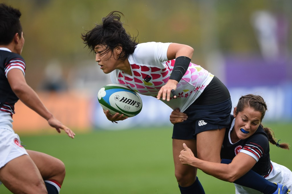 Japan's women edge closer to Rio with three wins at second Asian rugby sevens regional qualifier
