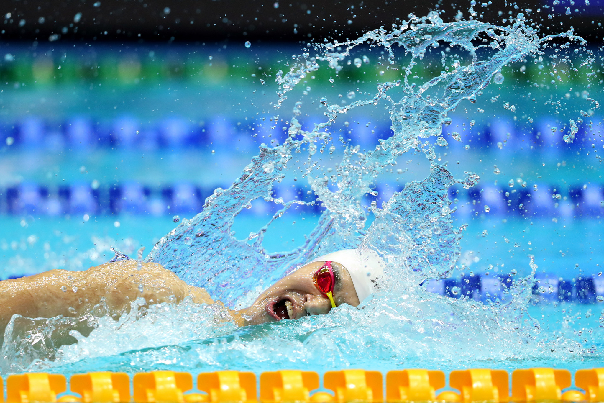 Sun Yang will give testimony during the public CAS hearing ©Getty Images