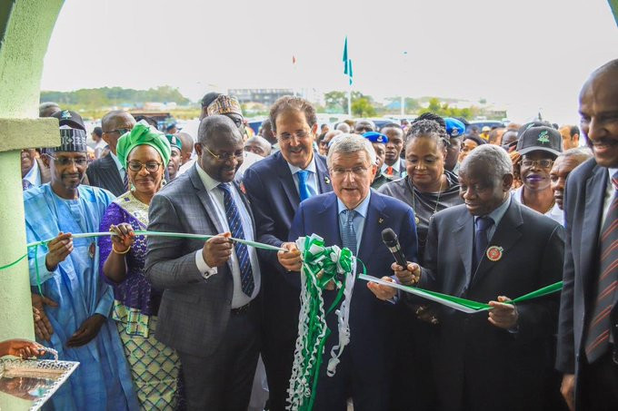 Crisis-ridden ANOCA's new headquarters inaugurated by IOC President
