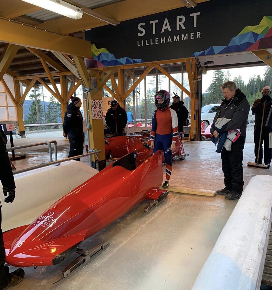 Race for monobob and skeleton Lausanne 2020 qualification underway
