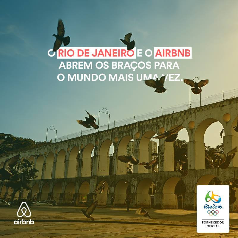 "Airbnb's first involvement with the Olympic Games was at Rio 2016 where they were the ""Official Alternative Accommodation Service "" provider - they also worked with Pyeongchang 2018 ©Airbnb"