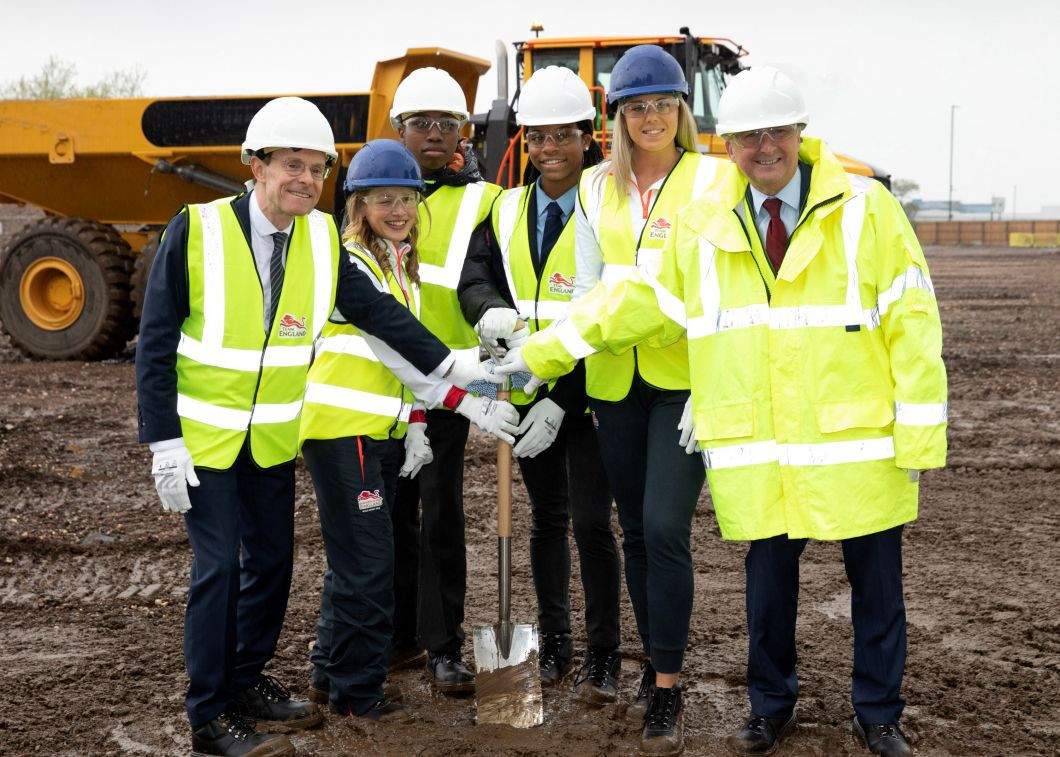 Construction for the Athletes' Village had started in Perry Barr ©Birmingham 2022