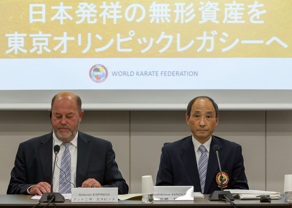 """No reason"" karate should miss out on Tokyo 2020, WKF President claims"