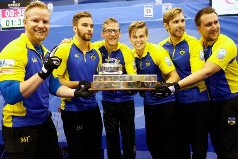 Sweden retain men's title at Le Gruyère European Curling Championships while Russia earn women's crown