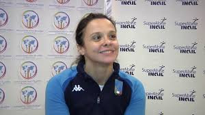 Rossanna Pasquino triumphed in the women's sabre B competition ©Youtube