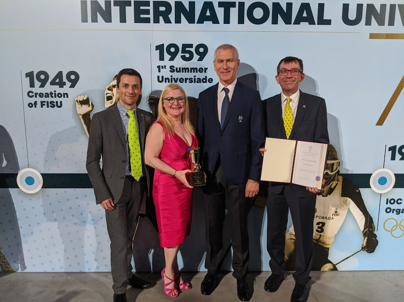 insidethegames.biz named best media partner at FISU Gala