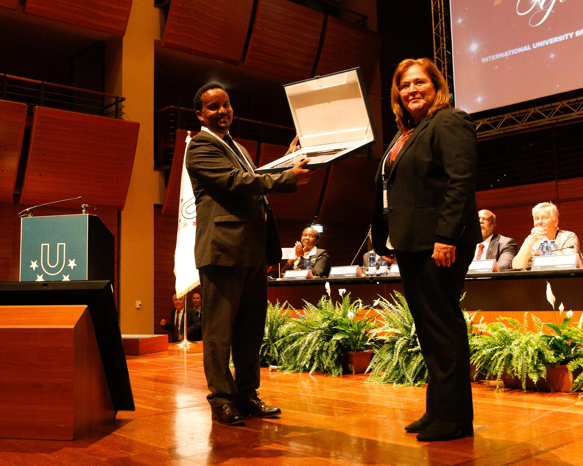 A special gender equality award was given to the Universities Sport Association of Ethiopia ©FISU