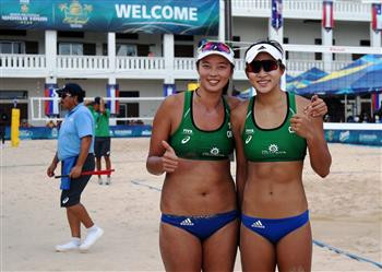 Chinese duo oust defending champions at FIVB Chetumal Open