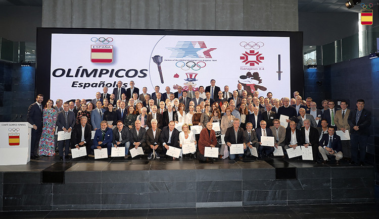 Tributes paid to Fernández-Ochoa at Spanish Olympic Committee celebration event