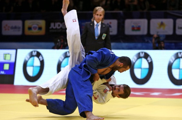Shikhalizada claims shock win to delight of home crowd at IJF World Tour Baku Grand Slam