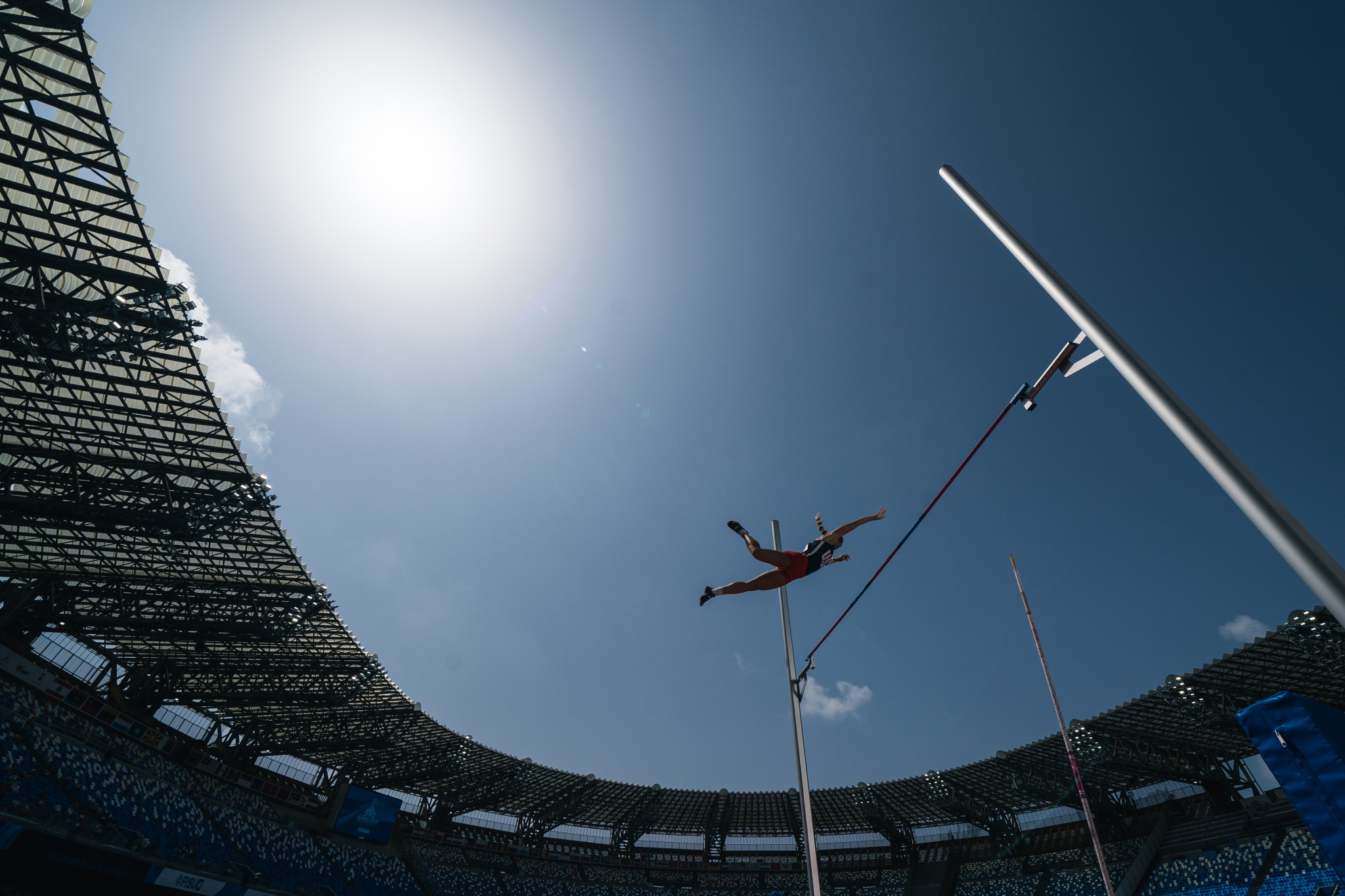 Pole vaulter Bridget Guy was named winner of the FISU Fair Play award ©Getty Images
