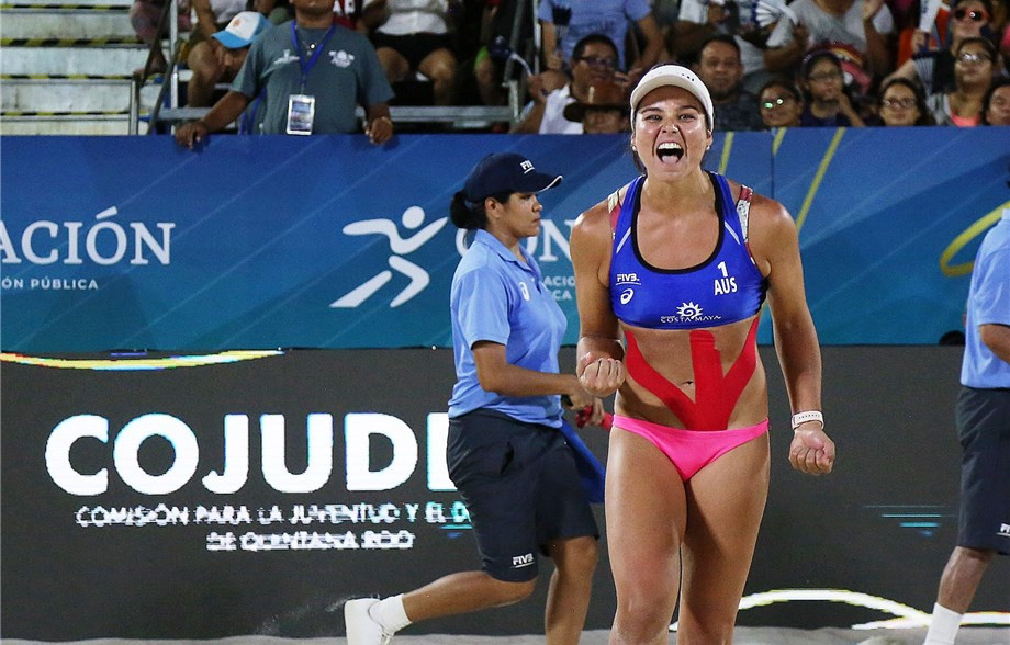 Women's finalists forced to battle back at FIVB Chetumal Open