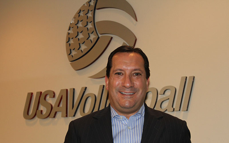 Jamie Davis' contract with USA Volleyball has been extended ©USA Volleyball