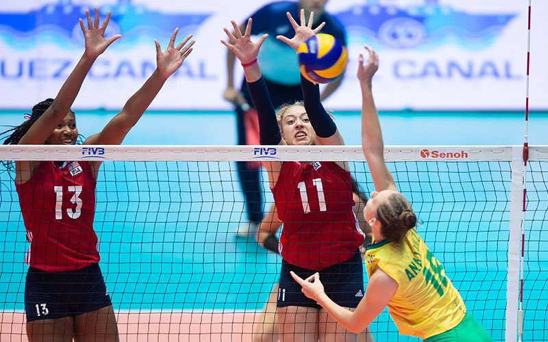 USA Volleyball membership has grown to 424,000 people under Jamie Davis' guidance ©USA Volleyball