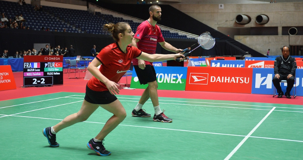 Mazur wins two titles at Tokyo 2020 Para-badminton test event