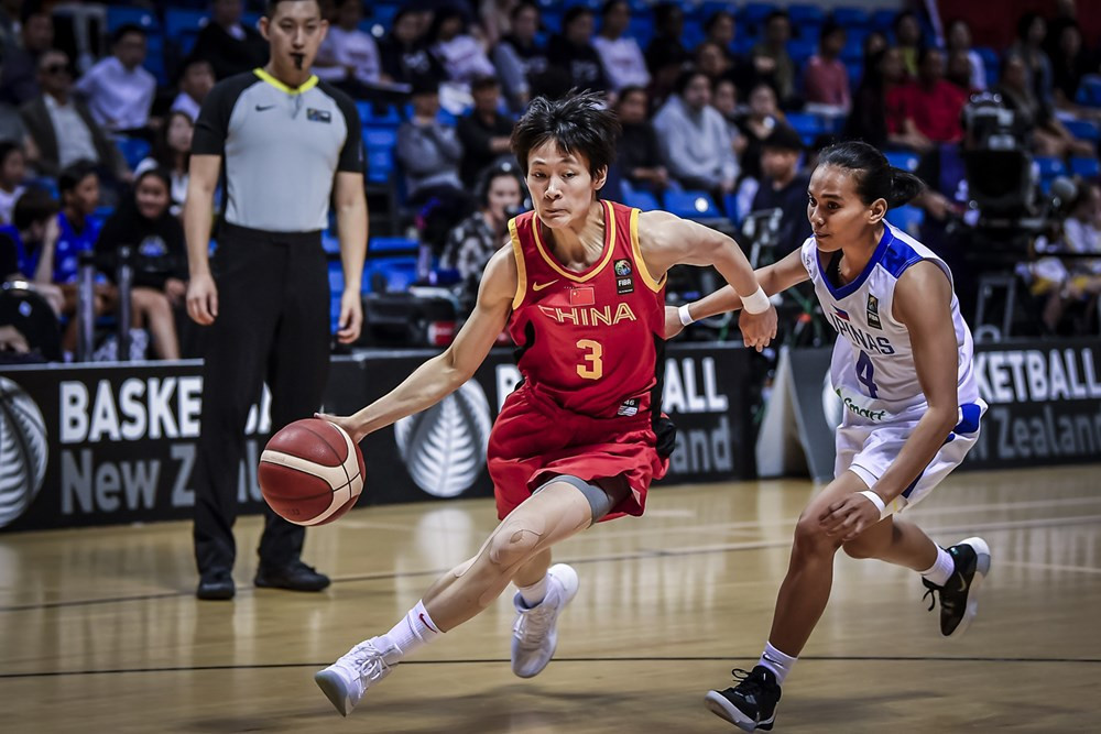 China and South Korea move closer to qualifying for women's basketball at Tokyo 2020