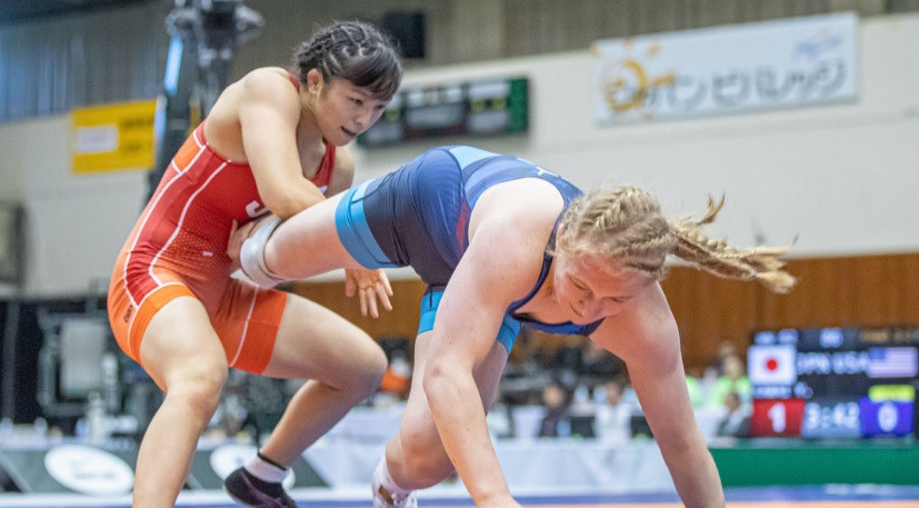 Japan seal fifth straight title with victory over United States at UWW World Cup