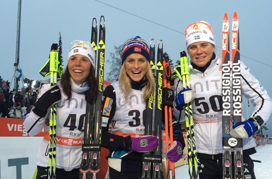 Johaug and Sundby continue Norwegian domination at FIS Cross Country World Cup