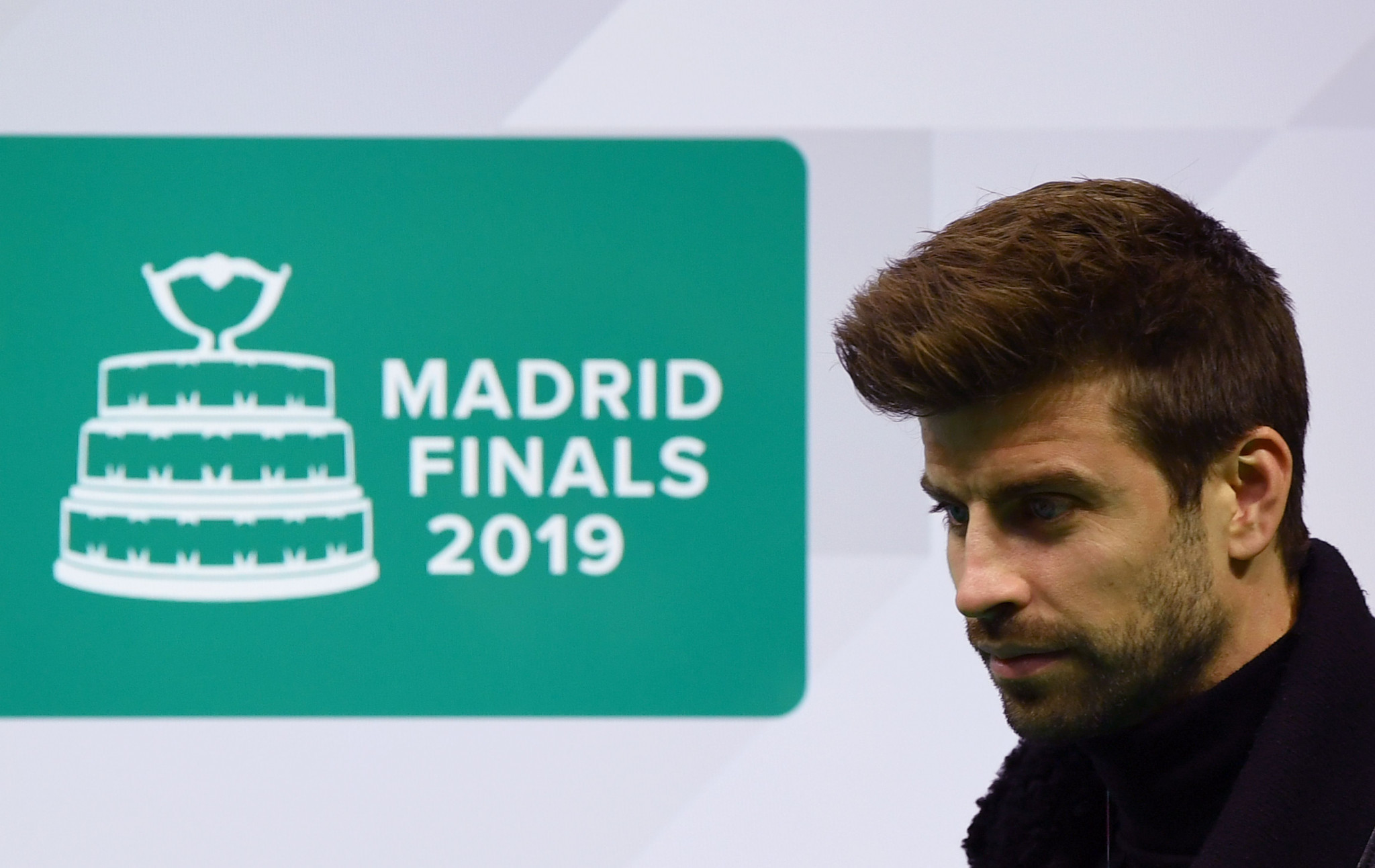 Football star Gerard Pique has been heavily involved in the revamped Davis Cup Finals ©Getty Images